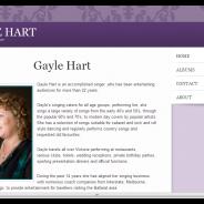Gayle Hart Vocalist Entertainer