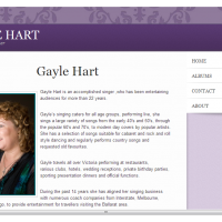 Gayle Hart Vocalist Entertainer