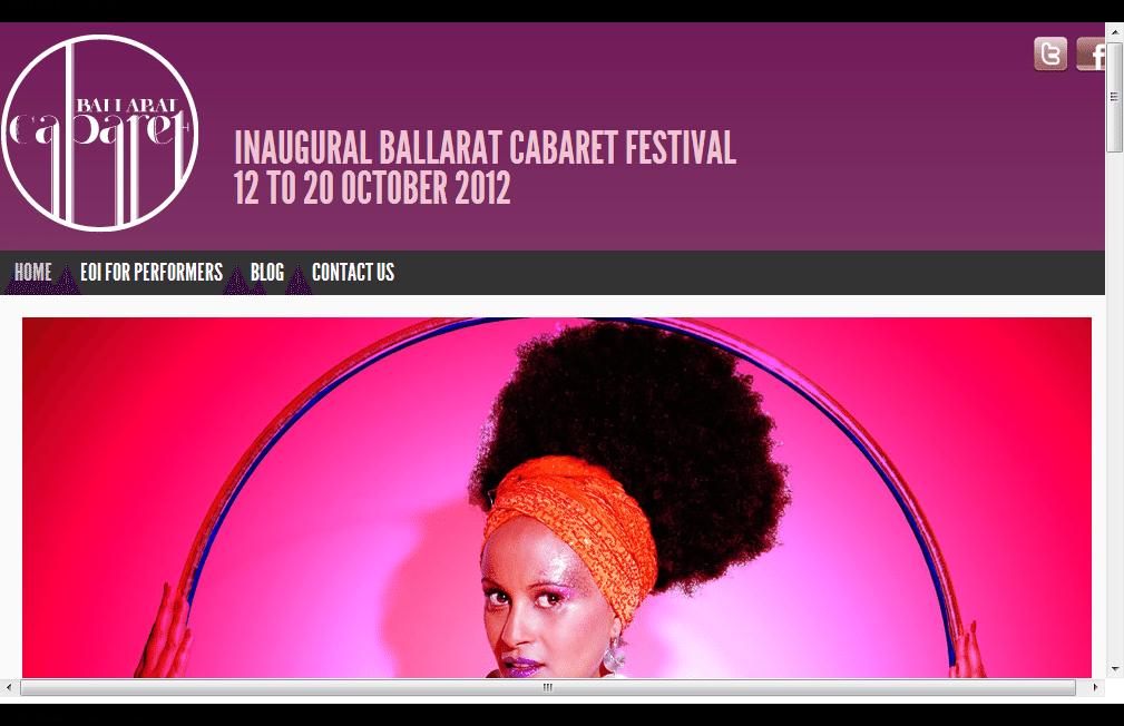 Ballarat Cabaret Festival