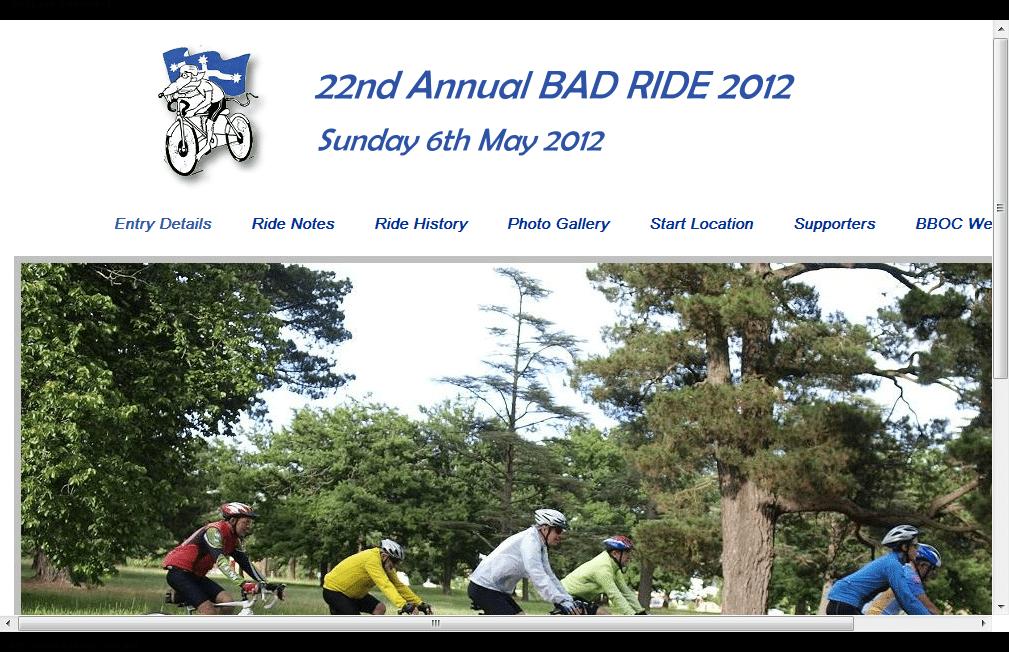 Annual Bad Ride